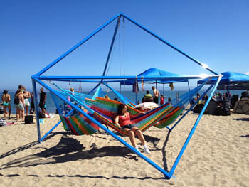 The Cube at the Cowell Beach