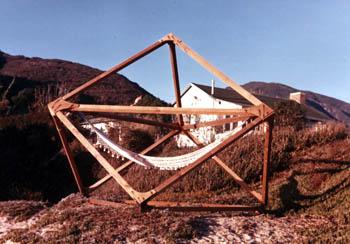 The Cube at Topanga Beach, 1974