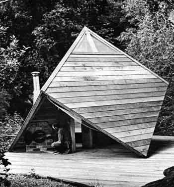 The Cube as a Sauna, Aptos, CA