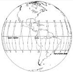 Zenith view of Quito, Equador sundial