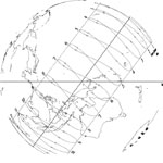 Western Horizon view of Santa Cruz, California sundial