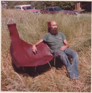 Daniel in the Lotus Sofa - one of a kind 1978