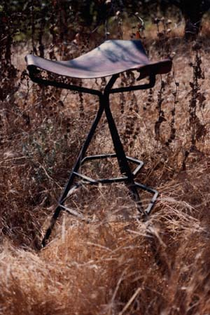 Two Ring Stool, one of a kind